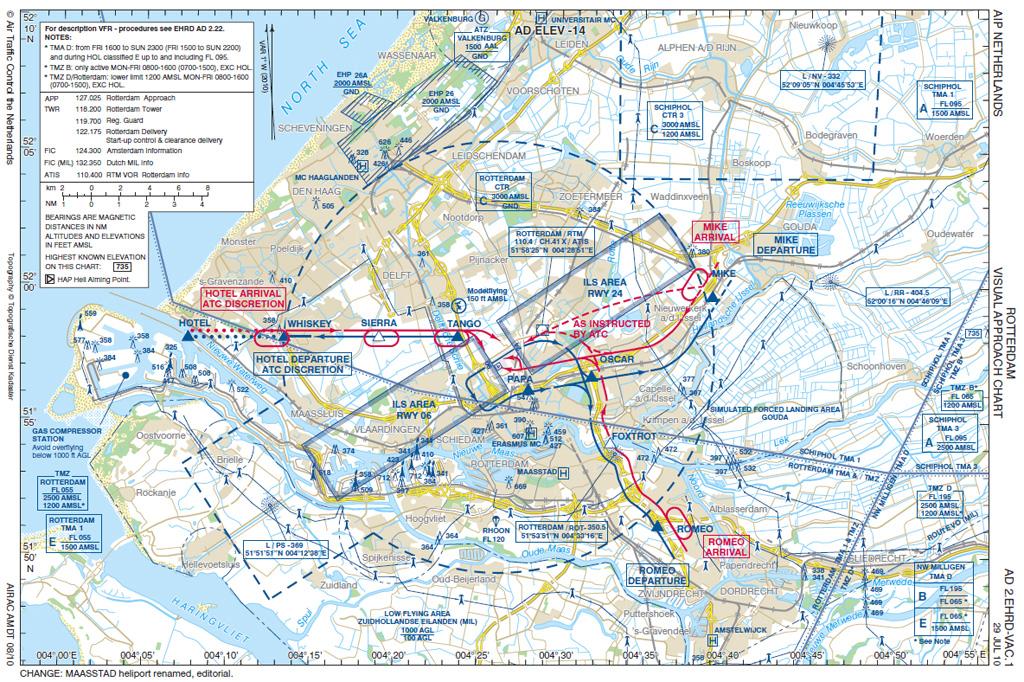 vliegen vanaf rotterdam amsterdam